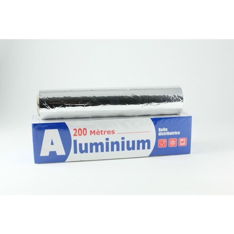 Papier aluminium alimentaire 200m tres x 33cm ep 11microns emballage alime - Cyberplus paiement net ...