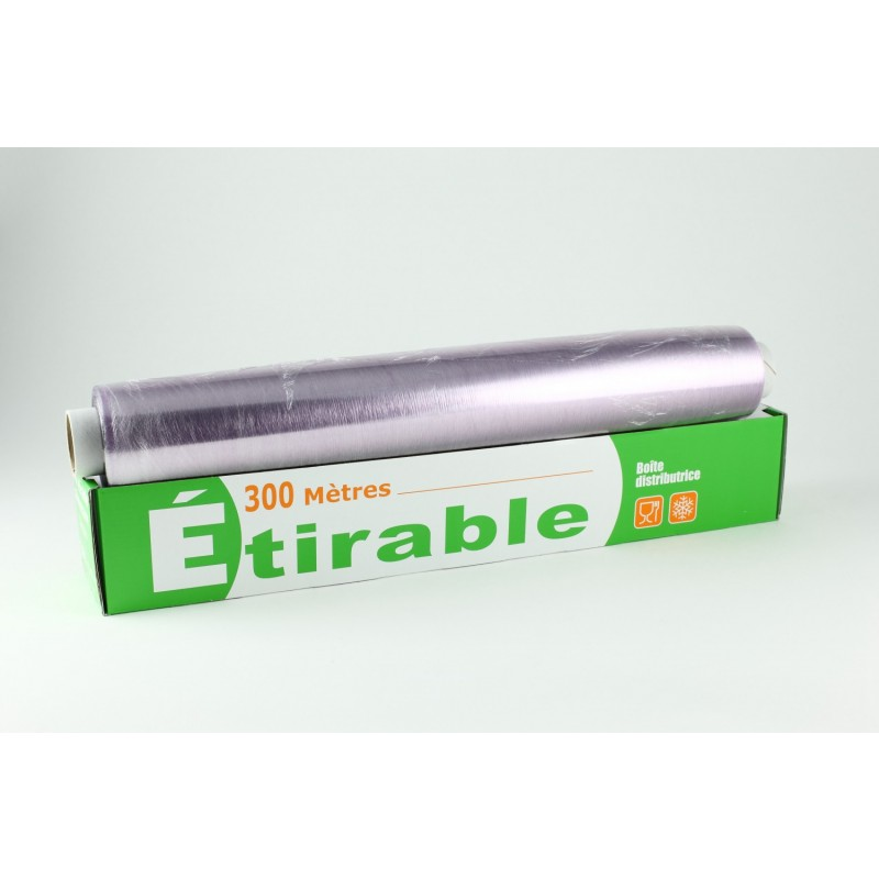 Film etirable alimentaire 300m tres x 45cm emballage - Cyberplus paiement net ...