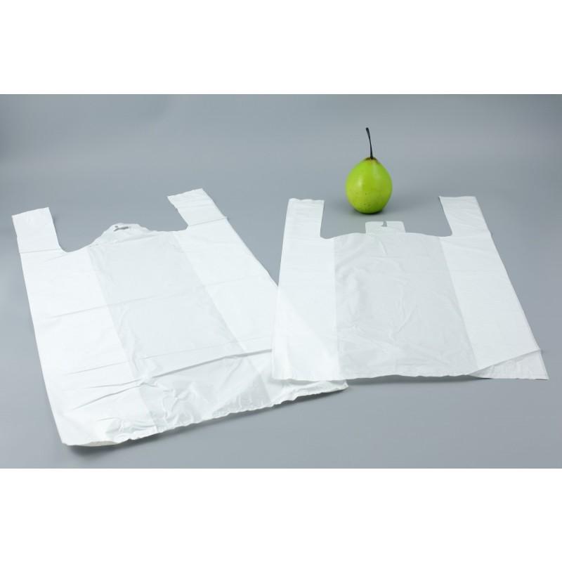 Sacs bretelles blanc 30x14x50cm ep 15 microns pqt 2000 plastique sac fo - Cyberplus paiement net ...