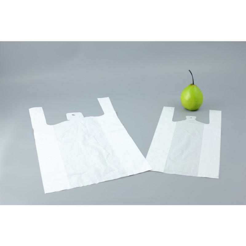 Sacs bretelles blanc 18 x 10 x 35cm ep 9 microns pqt 500 plastique sac - Cyberplus paiement net ...