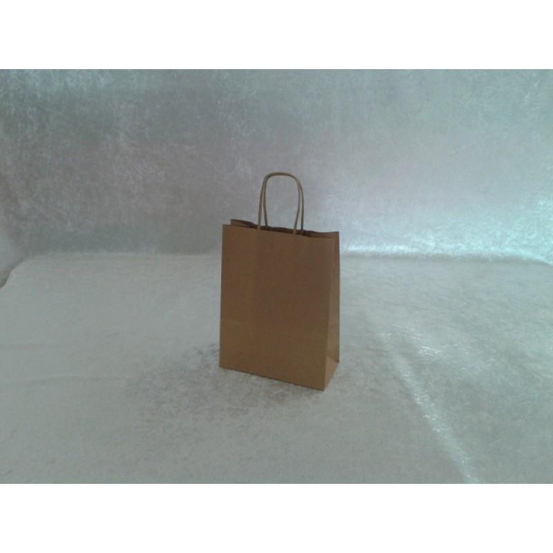 Sacs cabas papier brun poignees torsadees 18 x 8 x 24 pqt 50 sac fournimag - Cyberplus paiement net ...