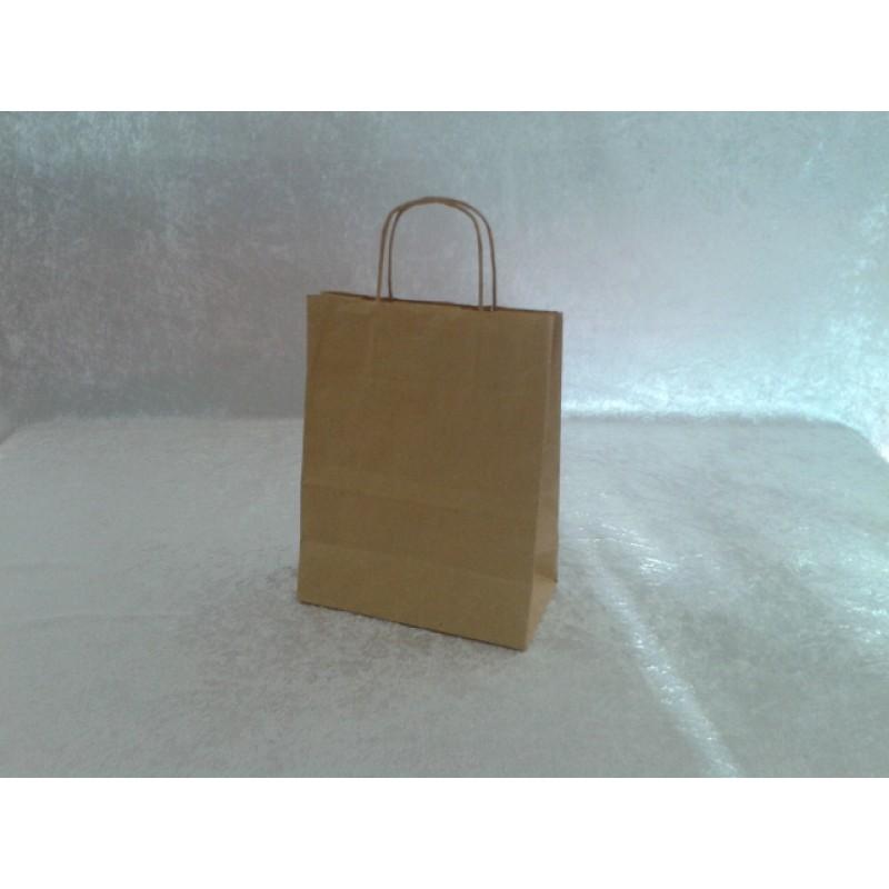 Sacs cabas papier brun poignees torsadees 24 x 12 x31 pqt 50 sac fournimag - Cyberplus paiement net ...
