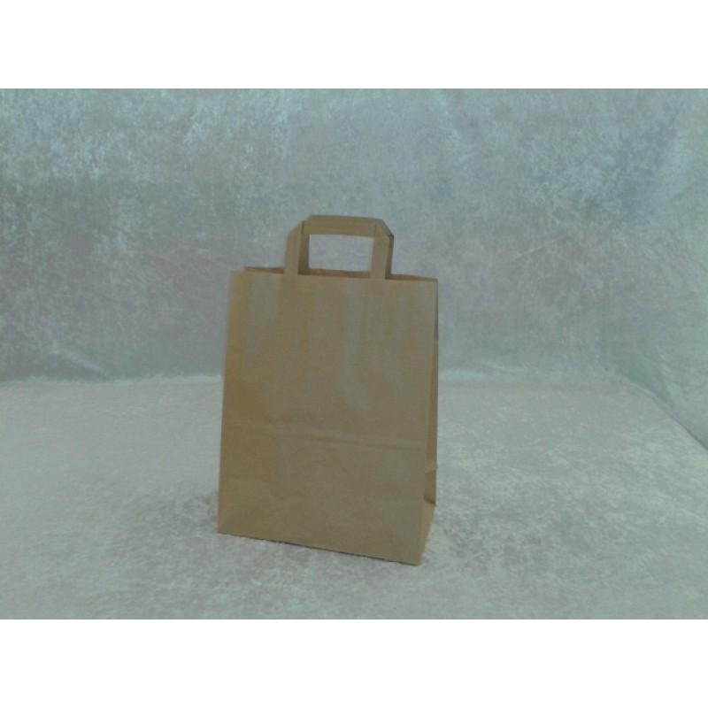 Sacs cabas kraft brun poignees plate 26 x 14 x 32 pqt 50 papier sac fou - Cyberplus paiement net ...