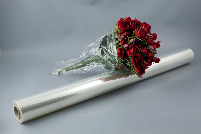 Film Fleuriste Transparent 120mètresx80cm Ep 35microns