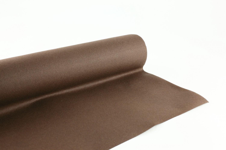 Nappe en papier jetable non tissé 1.20 M x 25 M Chocolat