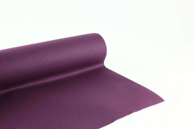 Nappe en papier jetable non tissé 1.20 M x 25 M Prune