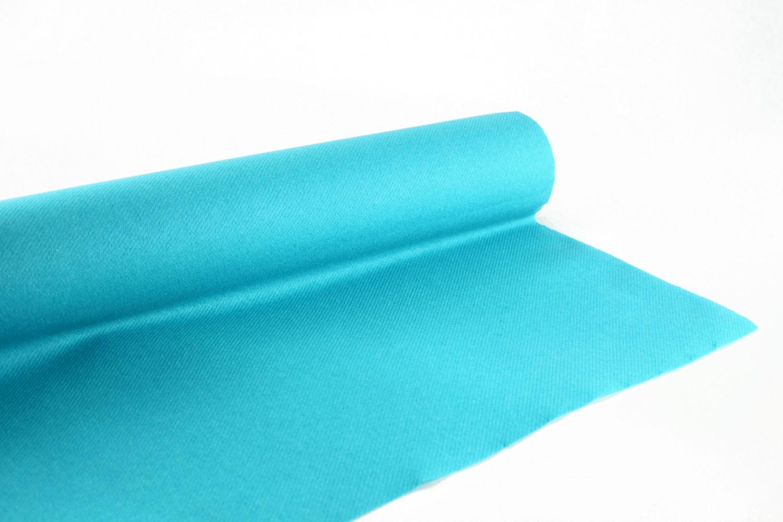 Nappe en papier jetable non tissé 1.20 M x 25 M Turquoise
