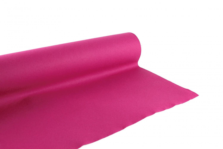 Nappe en papier jetable non tissé 1.20 M x 10 M Framboise