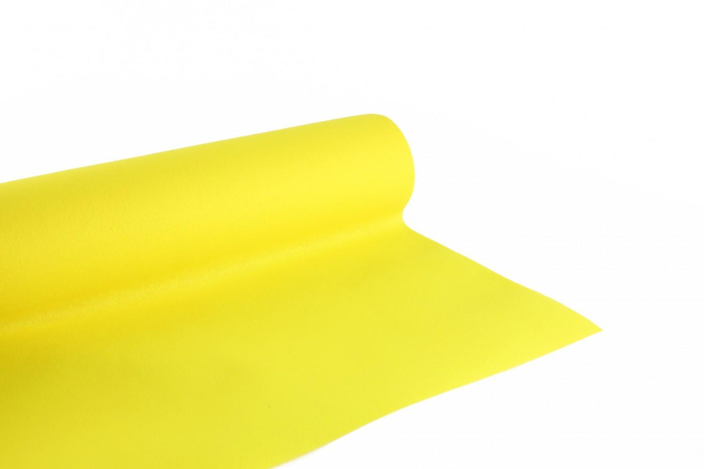 Nappe en papier jetable non tissé 1.20 M x 10 M Jaune