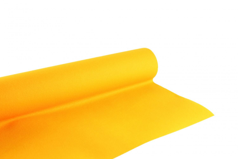 Nappe en papier jetable non tissé 1.20 M x 10 M Mandarine