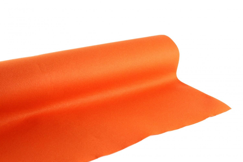 Nappe en papier jetable non tissé 1.20 M x 10 M Orange