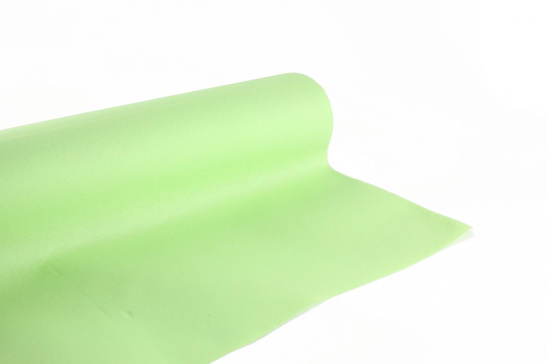 Nappe en papier jetable non tissé 1.20 M x 10 M Pistache