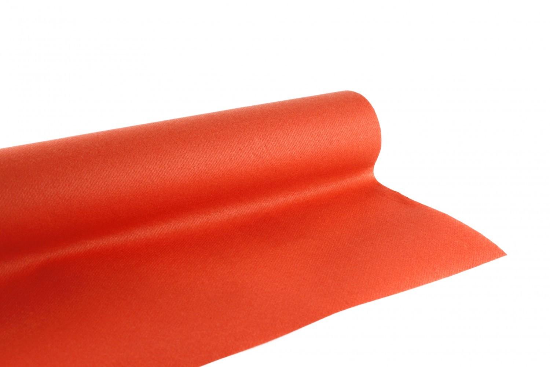 Nappe en papier jetable  non tissé 1.20 M x 10 M Terracota