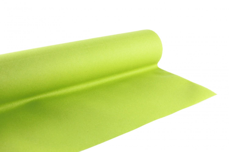 Nappe en papier jetable non tissé 1.20 M x 10 M Vert anis