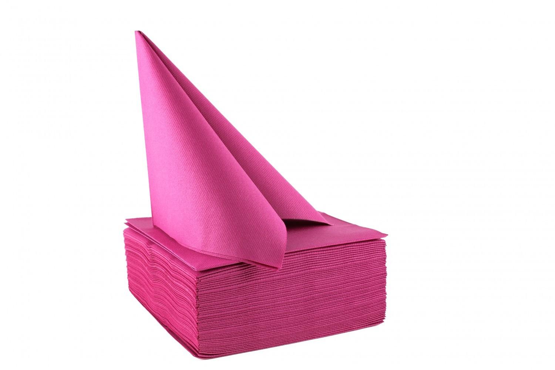 Serviette papier non tissée 40x40 Frambroise