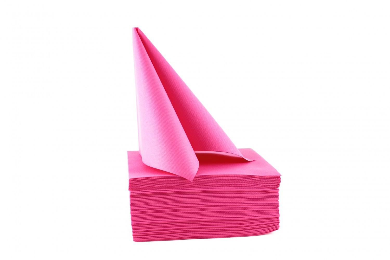 Serviette papier non tissée 40x40 Pivoine