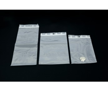 SACS A FERMETURE ZIP 10X15 cm PQT 500  Ep :50Microns